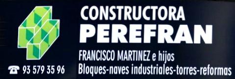 Constructora Perefran Mollet del Valls Barcelona
